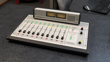 The ARC 10 is the ultimate medium sized broadcast radio console for radio studios, or internet radio applications.